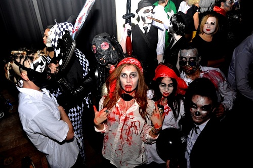halloween party amsterdam