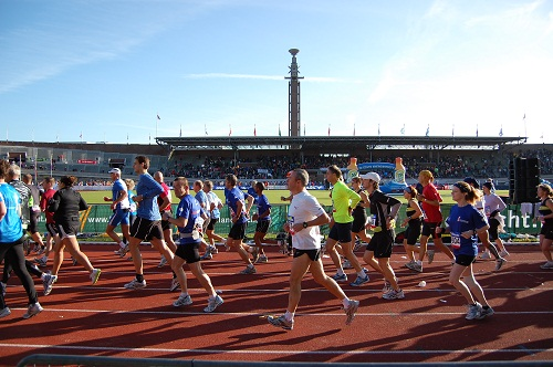 amsterdam marathon olympic stadium