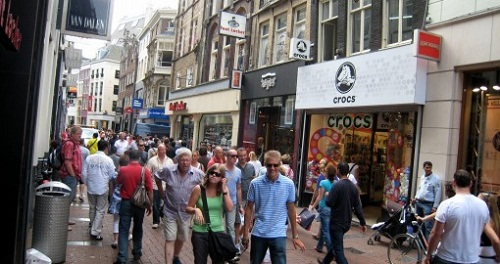 kalverstraat shopping streets