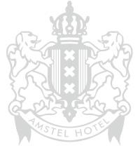 Amstel Hotel logo