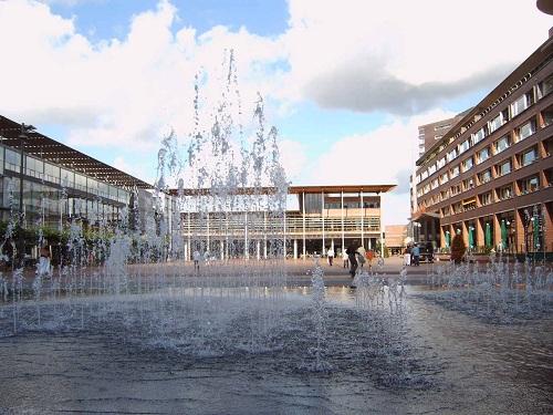 Amstelveen shopping mall