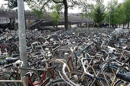amsterdam culture bikes