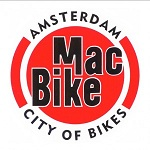 macbike logo amsterdam bike rent