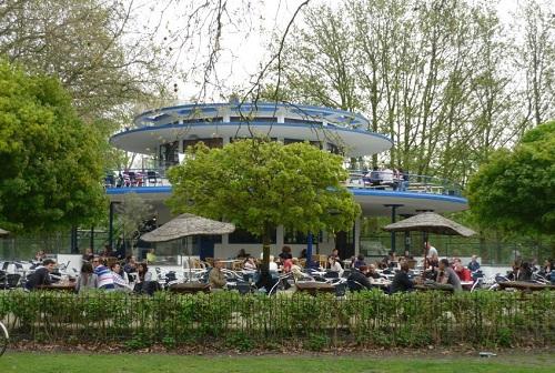vondelpark blauwe theehuis